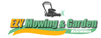 Ezy Mowing & Garden Maintenance Logo