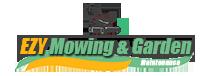 Ezy Mowing & Garden Maintenance Logo